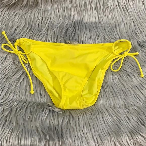 Victoria's Secret Other - Victoria's Secret bright yellow bikini bottoms
